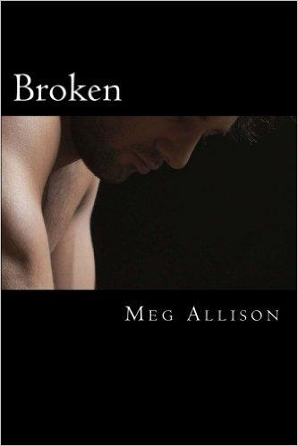 Broken paperback cover